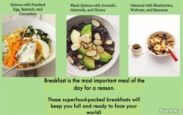 Super Healthy Breakfast Ideas