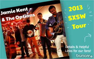 Jamie Kent and The Options